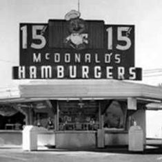 Watch: On May 15, 1940, the first McDonald's restaurant opened in San Bernardino, California