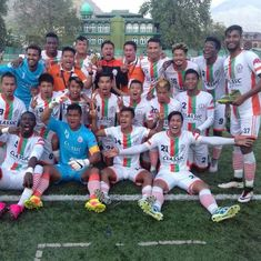 How Neroca FC fought blockades in Manipur to break into the top division of the I-League