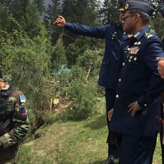 Pakistan Air Force chief says they will respond to any 'misadventure' in a befitting manner