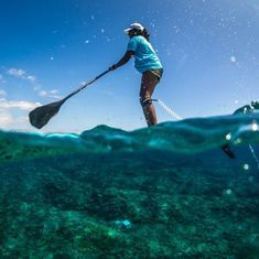 Surf's up: Meet Tanvi Jagadish, India's first professional stand up paddle racer