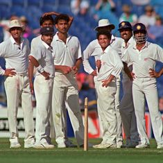 A statistical journey of Indian cricket's social history through regional distribution of players