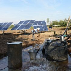 Gujarat's solar irrigation cooperative has a solution for India's groundwater crisis