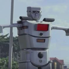 Watch: Robocops have become a reality in this city in the Democratic Republic of the Congo