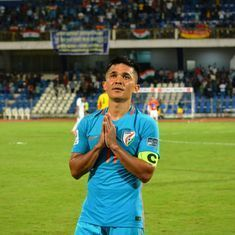 One second at a time: Reliving Sunil Chhetri's  mesmerising wonder goal against Kyrgyzstan