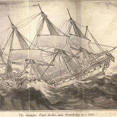 'Gratitude to my Creator': A survivor's account of the sinking of an East India Company ship in 1807