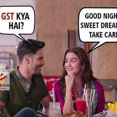 'If you can't explain it, you don't understand it': GST is fodder for a spate of Twitter memes