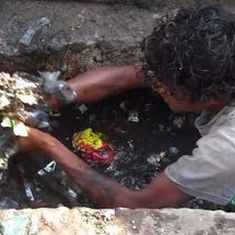 Government claims to have assisted 91% of India's manual scavengers, without counting 93% of them