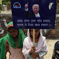 A Haryana village has been named after Donald Trump as part of a campaign against open-defecation