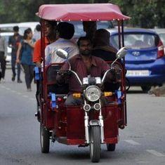 Aadhaar is now mandatory for e-rickshaws owners in Delhi seeking subsidy