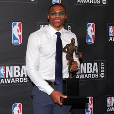 Russell Westbrook named NBA's Most Valuable Player after historic season