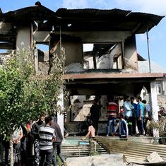 Anger in South Kashmir over the charred bodies of young militants killed in encounter