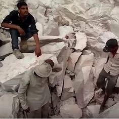 In this UP village, stone quarries are the only source of livelihood – but they're taking lives
