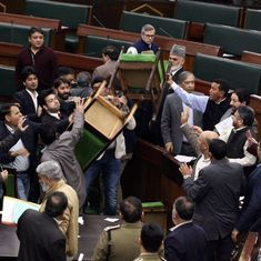 'I can lynch you here': Ruckus in J&K Assembly was not the first, and is unlikely to be the last