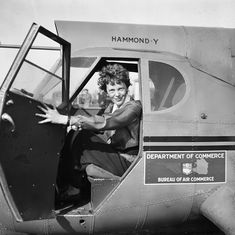 The Indian adventures of Amelia Earhart before she disappeared into oblivion