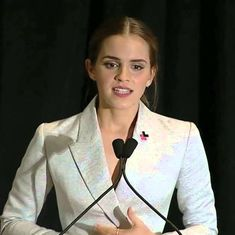 Video: Emma Watson's speech on feminism rightfully asks, 'If not you, who? If not now, when?'