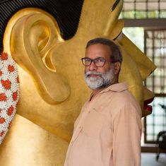 Why sculptor G Ravinder Reddy is obsessed with large, disembodied heads of women