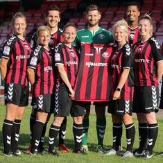 England's Lewes FC become first professional club to award equal pay for men and women