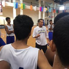 From NBA to India: New basketball coach Phil Weber hopes to create a culture of success