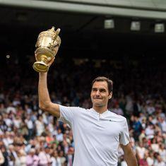 From a racquet-smashing youngster to an all-conquering legend, Roger Federer has come a long way