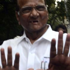 NCP's Sharad Pawar is riding two horses. A fall is inevitable