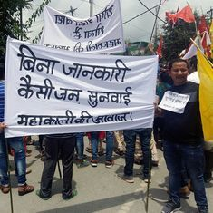Uttarakhand is building a dam over an area larger than Chandigarh – and people are protesting