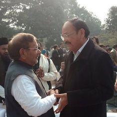 As Nitish seeks Sharad Yadav's Rajya Sabha exit, Venkaiah faces his first test as neutral umpire