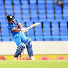Three charts that define MS Dhoni's stellar ODI batting career