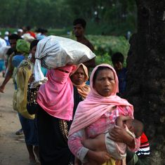 'I'm happy we aren't dead': Rohingyas fleeing to Bangladesh describe their long walk for survival