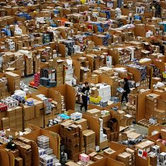 Inside the warehouse where Amazon India packages products and ensures they go to the right customers