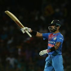 Tour-wash complete: Kohli magic fires India to seven-wicket win over Sri Lanka in one-off T20I
