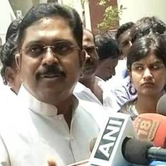 Tamil Nadu Speaker disqualifies 18 AIADMK legislators who backed TTV Dinakaran