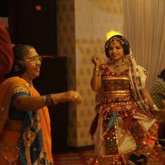 Watch how Mumbai grooved to silent garba this Navaratri