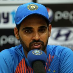 Losing Sharma, Kohli in Behrendorff's first over turned the match: Bhuvneshwar after T20I loss