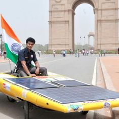 Video: Meet the team that is making a solar-powered, zero emissions car right here in India