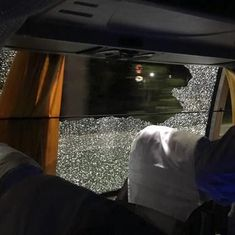 Four arrested for allegedly pelting stones on Australian team bus in Guwahati