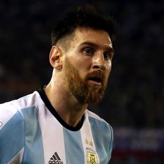 Isis use poster of Lionel Messi crying blood in latest threat to 2018 Fifa World Cup