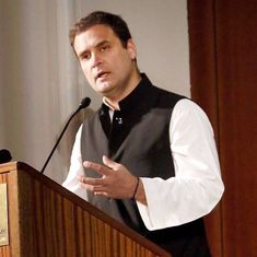 'Narendra Modi has a very big chest, but a small heart,' says Rahul Gandhi