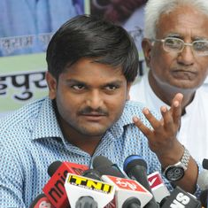 Hardik Patel warns Congress of protests if it does not make its stand clear on Patidar reservation