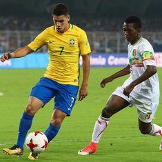 Fifa under-17 World Cup: Sluggish Brazil finish third with 2-0 win over Mali