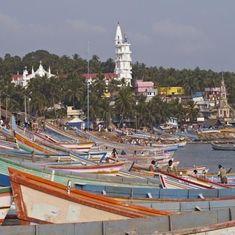 Fishermen stall construction of Adani port in Kerala demanding rehabilitation for damaged homes