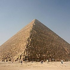 Scientists find hidden chamber inside the Great Pyramid of Giza