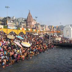 In photos: Thousands throng temples and ghats on the occasion of Kartik Purnima