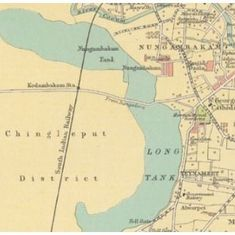 Six Chennai maps spanning over a century explain why the city faces flood danger each year