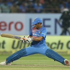 'I pull the length up and tuck him up': Santner reveals tactic that stretched Dhoni in Rajkot