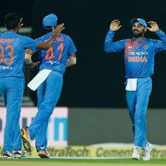 India vs New Zealand: Kohli and Co clinch rain-hit thriller by 6 runs, win the series 2-1