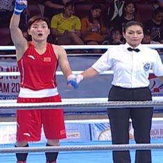 Boxing: Sonia Lather finishes with silver medal after losing to China's Yin Junhua in 57 kg final