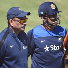 'Looks like there are a lot of jealous people around': Ravi Shastri bats for MS Dhoni
