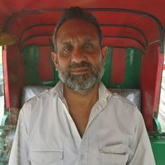 This auto driver breathes in Delhi's toxic air all day – yet knows little about the pollution crisis