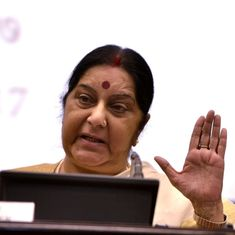 Bangladesh will compensate those affected by attack on Hindu homes in Rangpur, says Sushma Swaraj