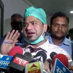 Gorakhpur hospital deaths: Dr Kafeel Khan cleared of graft, still faces attempt to murder charge